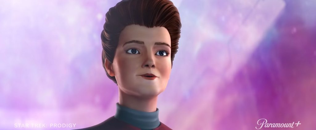 Animated Kathryn Janeway