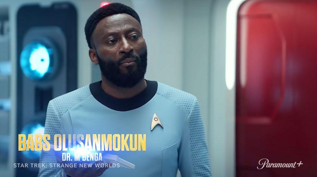Babs Olusanmokun as Dr. M Benga