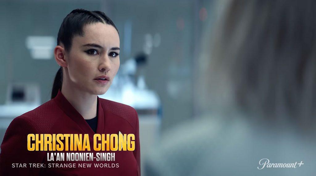 Christina Chong as La'an Noonien-Singh