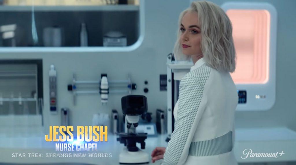 Jess Bush as Nurse Chapel